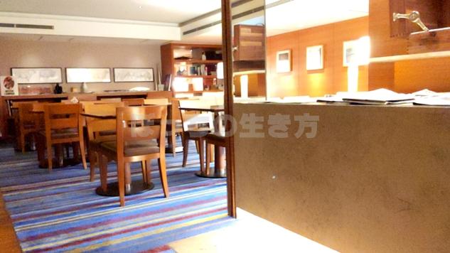 神戸ポートピアホテルのクラブラウンジ