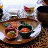 神戸ポートピアホテルのクラブラウンジ和定食