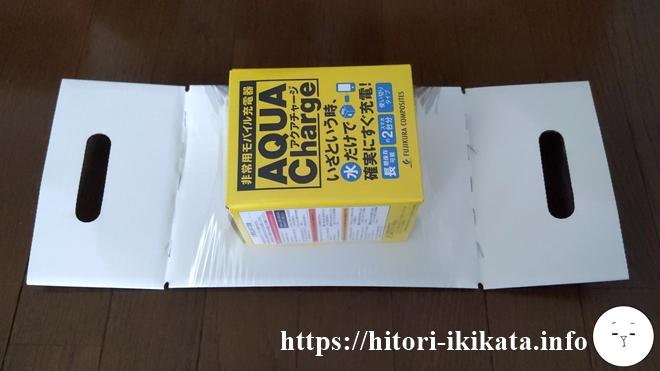 藤倉コンポジットの株主優待品アクアチャージが届きました
