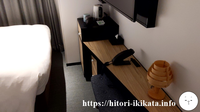 リソルホテル上野のシングルルーム