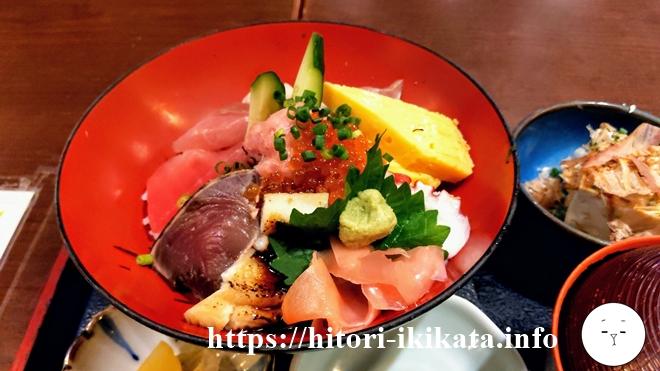 庄やのランチタイムの海鮮丼