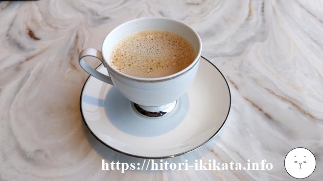 コンシェルジュラウンジのコーヒー