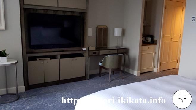 マリオットアソシアホテルのテレビ