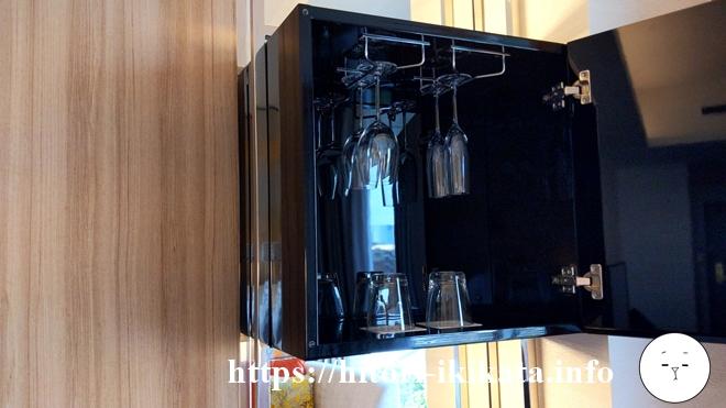シェラトン都ホテル東京のワイングラス