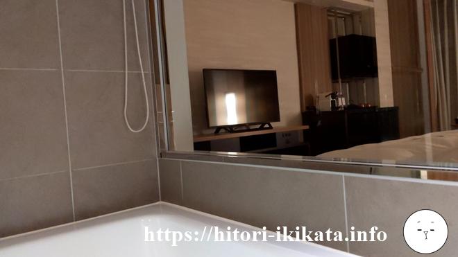 シェラトン都ホテル東京のバスタブ