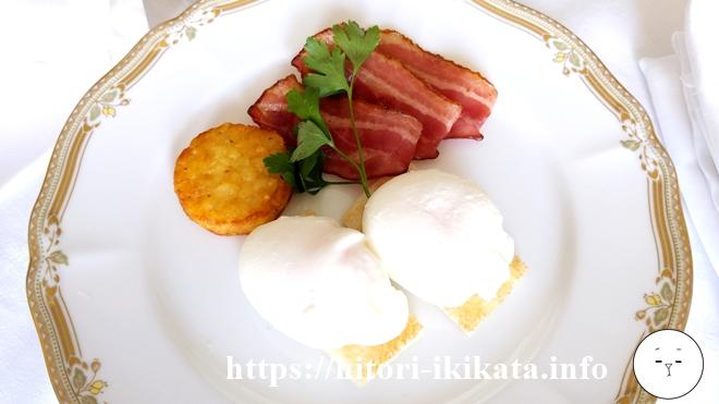 シェラトン都ホテル東京の朝食ルームサービス