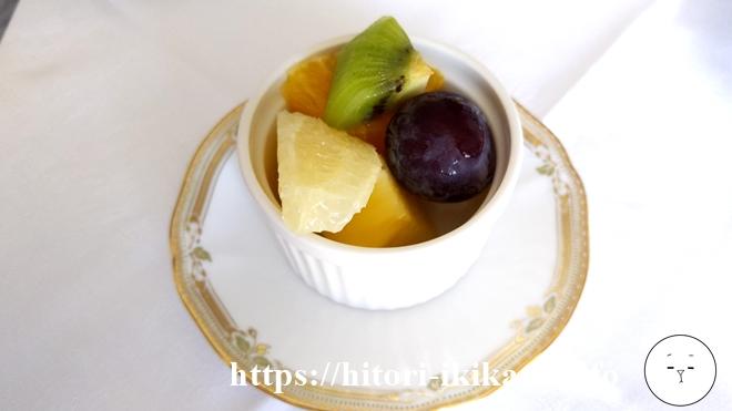シェラトン東京のフルーツ盛り合わせ