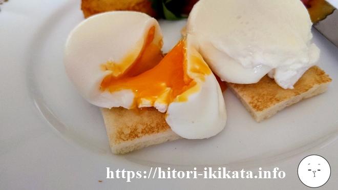 シェラトン東京のエッグベネディクト朝食