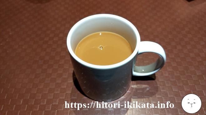 カラオケの鉄人のホットコーヒー