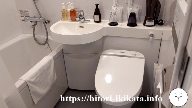 エスペリアイン日本橋箱崎のバスルーム