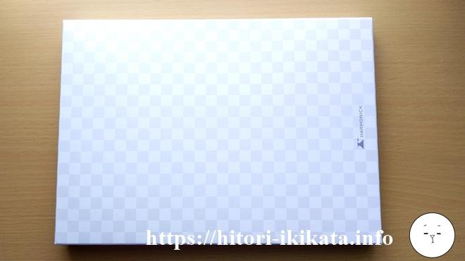 パレモのカタログギフト冊子の外箱