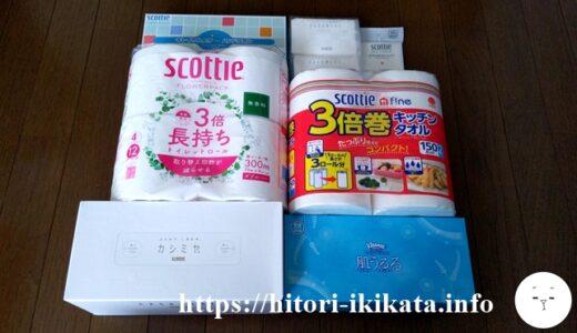 【3863】日本製紙の株主優待は家庭用品セット♪配当利回りも3%超えでおすすめ!
