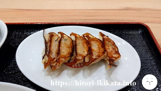 マルケン餃子食堂の焼き餃子