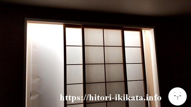 ホテルリソル四条室町の窓
