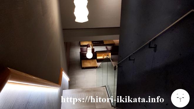 リソル四条室町の階段