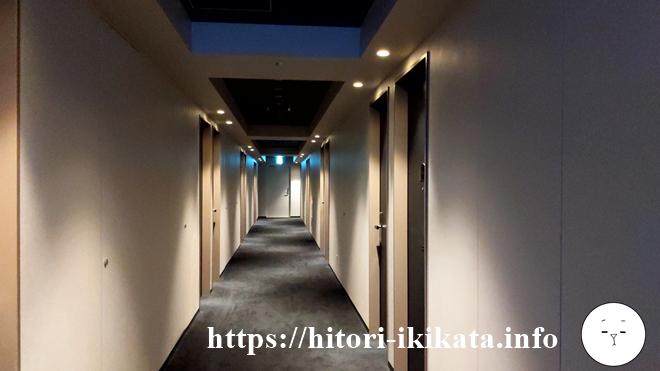 リソルトリニティー大阪の廊下