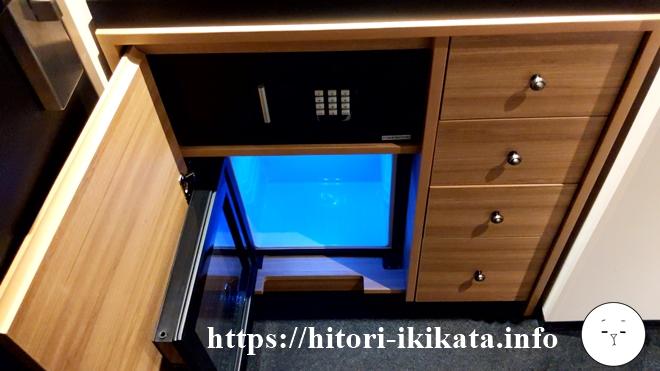 リソルトリニティー大阪の冷蔵庫