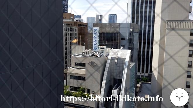 リソルトリニティー大阪からの風景