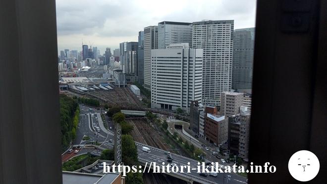東京マリオットホテルからの風景
