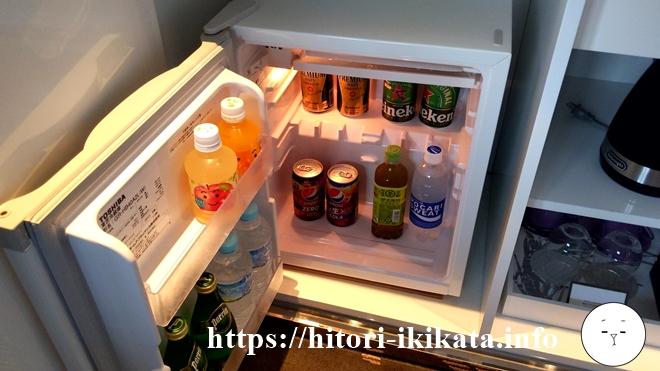 東京マリオットホテルのソフトドリンク