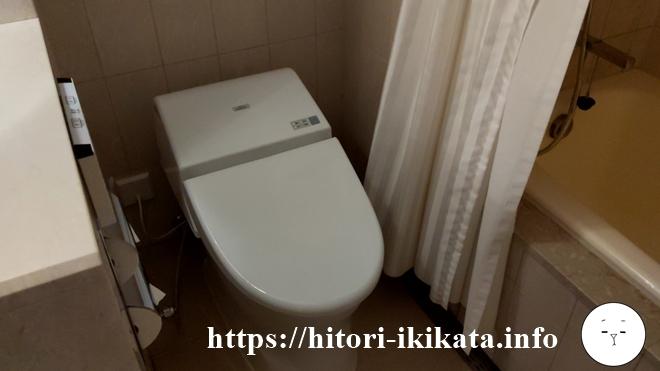 東京マリオットホテルのトイレ